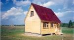 Каркасный дом 5,0х6,0