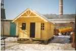 Каркасный дом 3,0х7,0